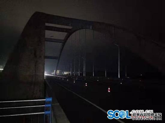 调查|已通车8个月 广安官盛渠江大桥路灯何时能点亮?