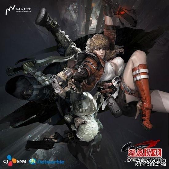韩国动作射击游戏《GunZ 2》宣布登陆STEAM平台